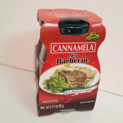 Cannamela Barbecue Mix