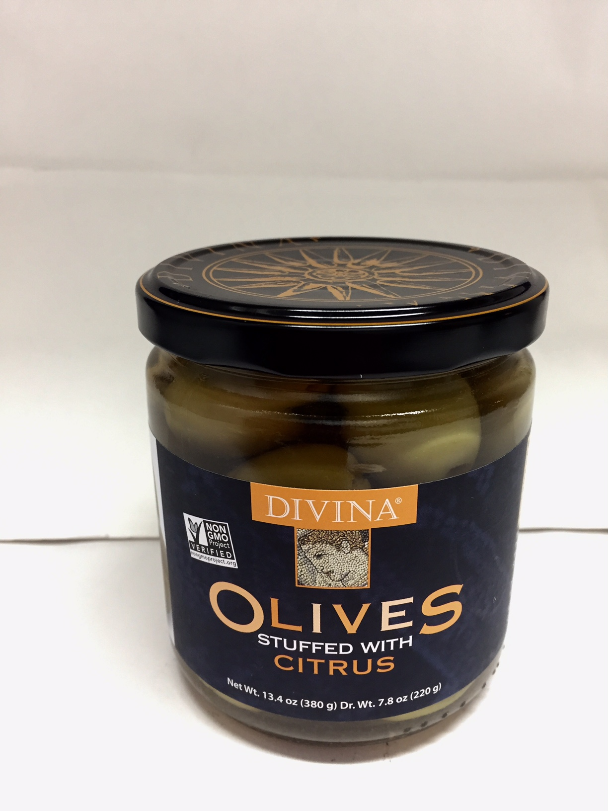 Olives Stuffed with Citrus