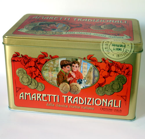 Amaretti Traditional in Souvenir Tin