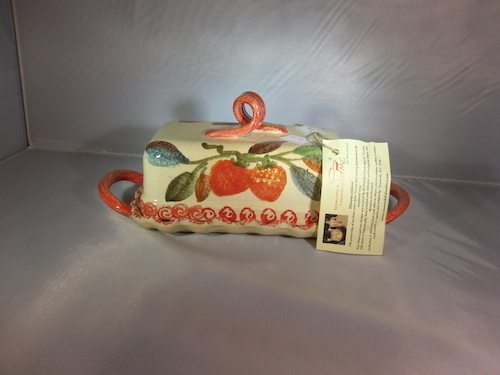 Covered Ceramic Butter Dish