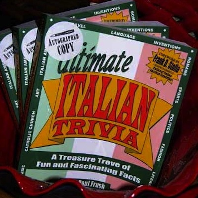 Trivia Book of Italy